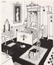 HEATH ROBINSON. Bedroom Suite de Luxe. Domestic, vintage print 1973